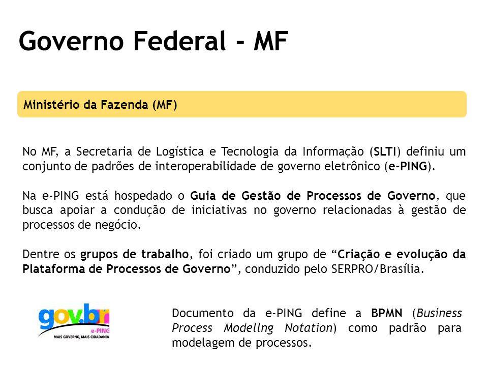 Governo Federal - MF Ministério da Fazenda (MF)