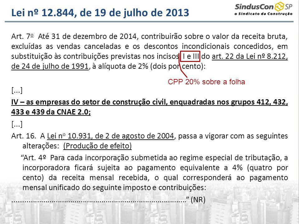 Lei nº 12.844, de 19 de julho de 2013