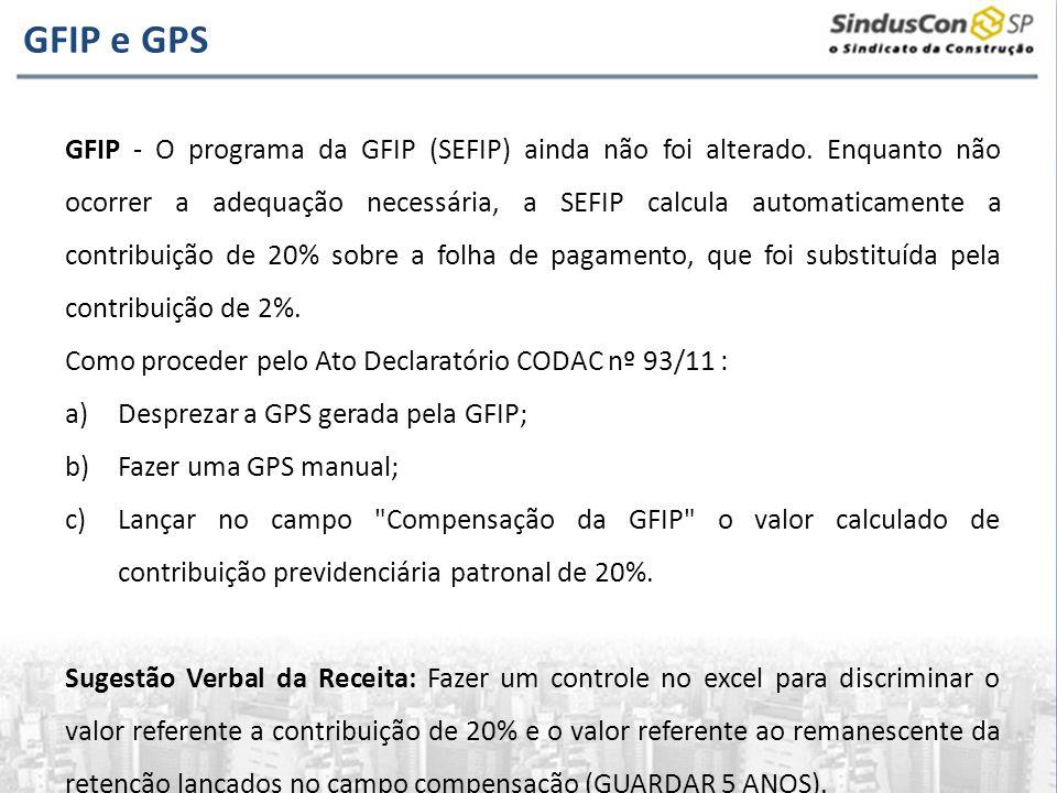 GFIP e GPS