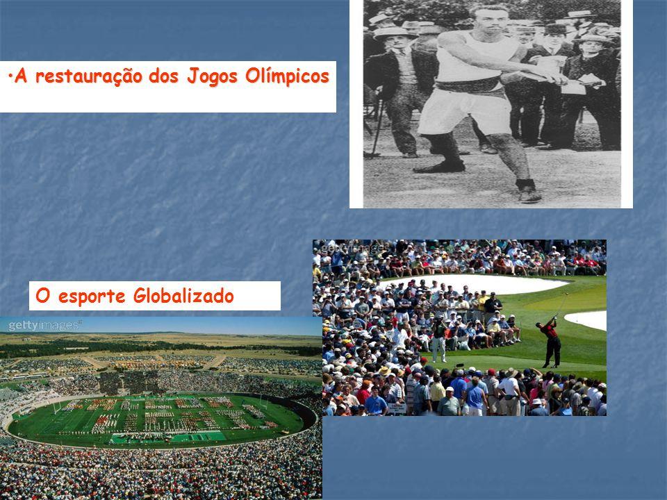 A restauração dos Jogos Olímpicos