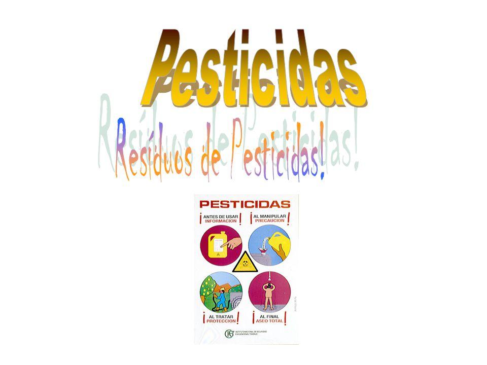 Resíduos de Pesticidas!