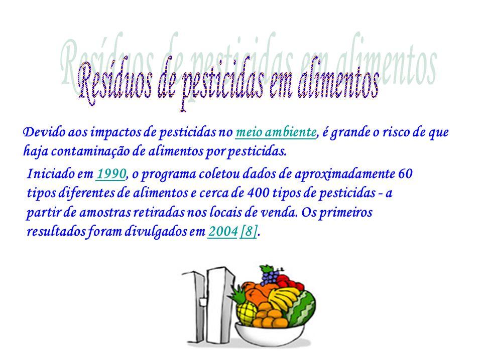 Resíduos de pesticidas em alimentos