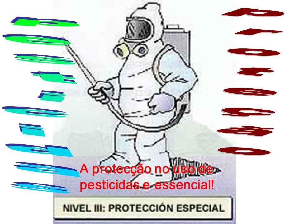 proteção pesticidas A protecção no uso de pesticidas e essencial!