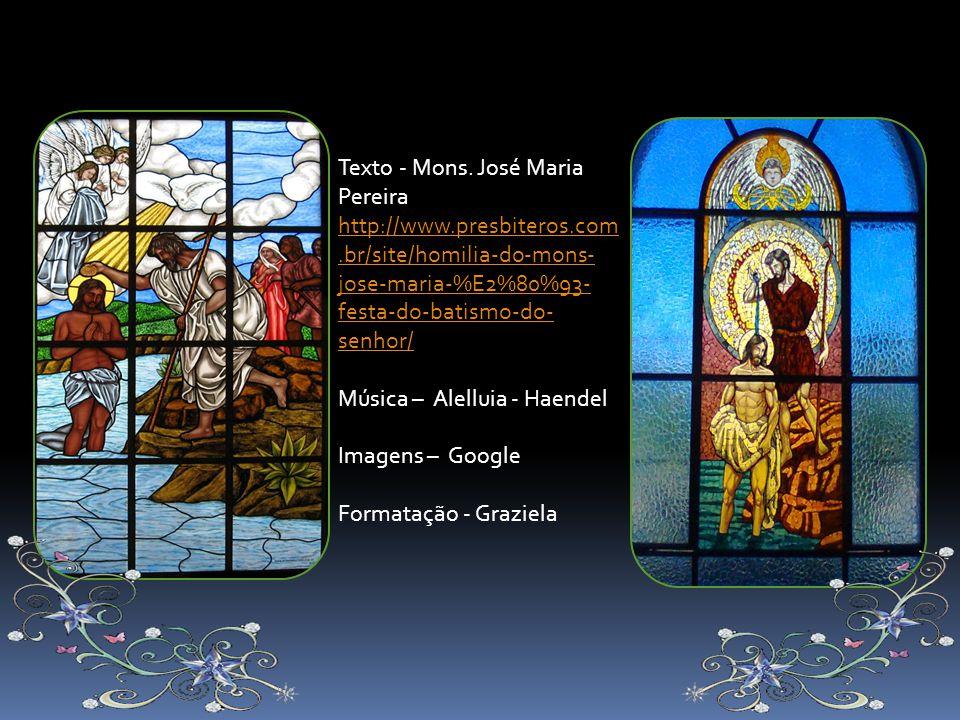 Texto - Mons. José Maria Pereira