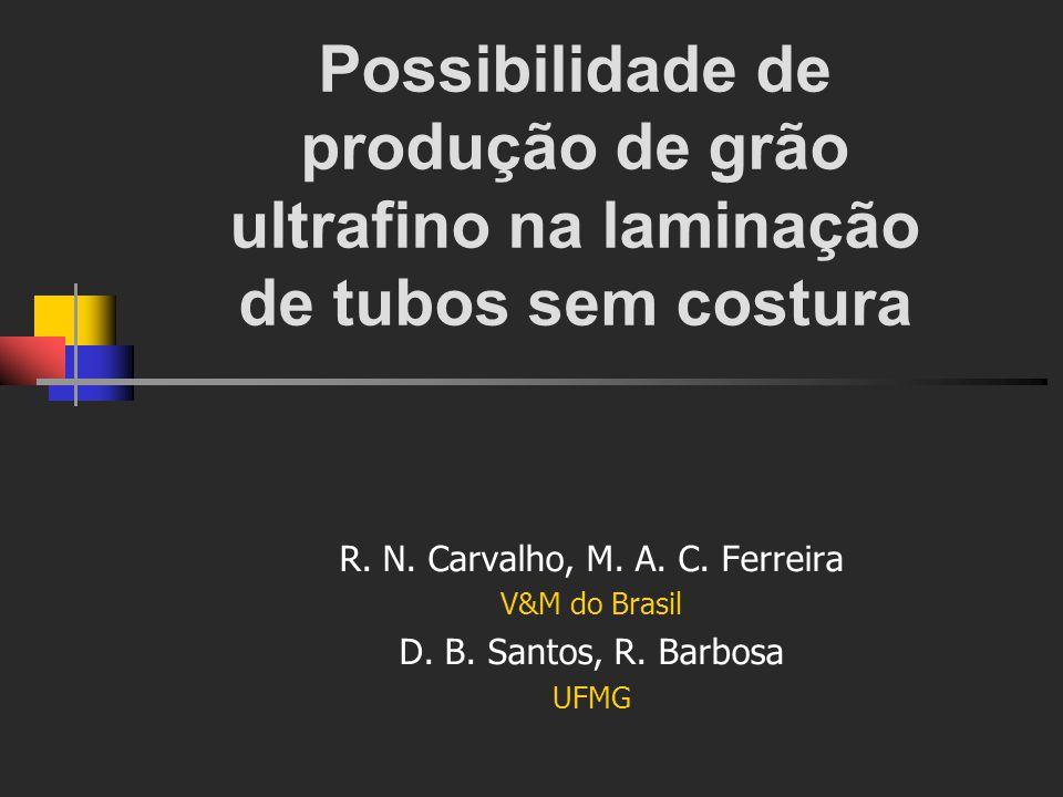 R. N. Carvalho, M. A. C. Ferreira