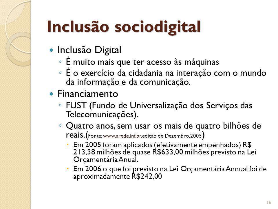 Inclusão sociodigital