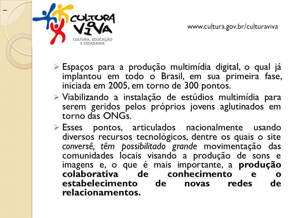 <> www.cultura.gov.br/culturaviva.
