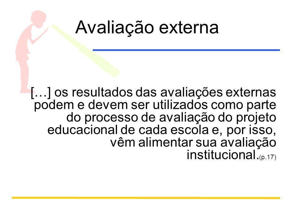 Avaliação externa