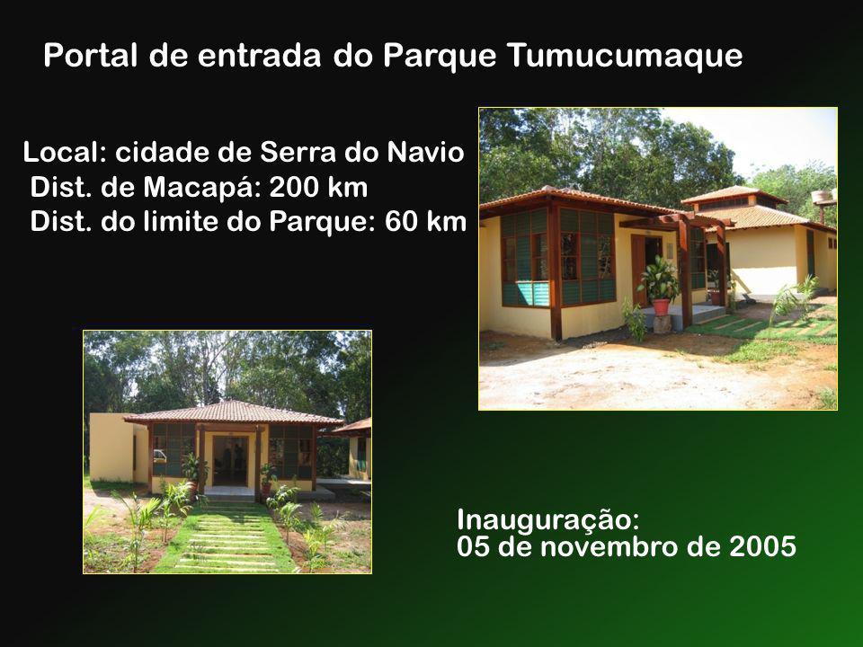 Portal de entrada do Parque Tumucumaque