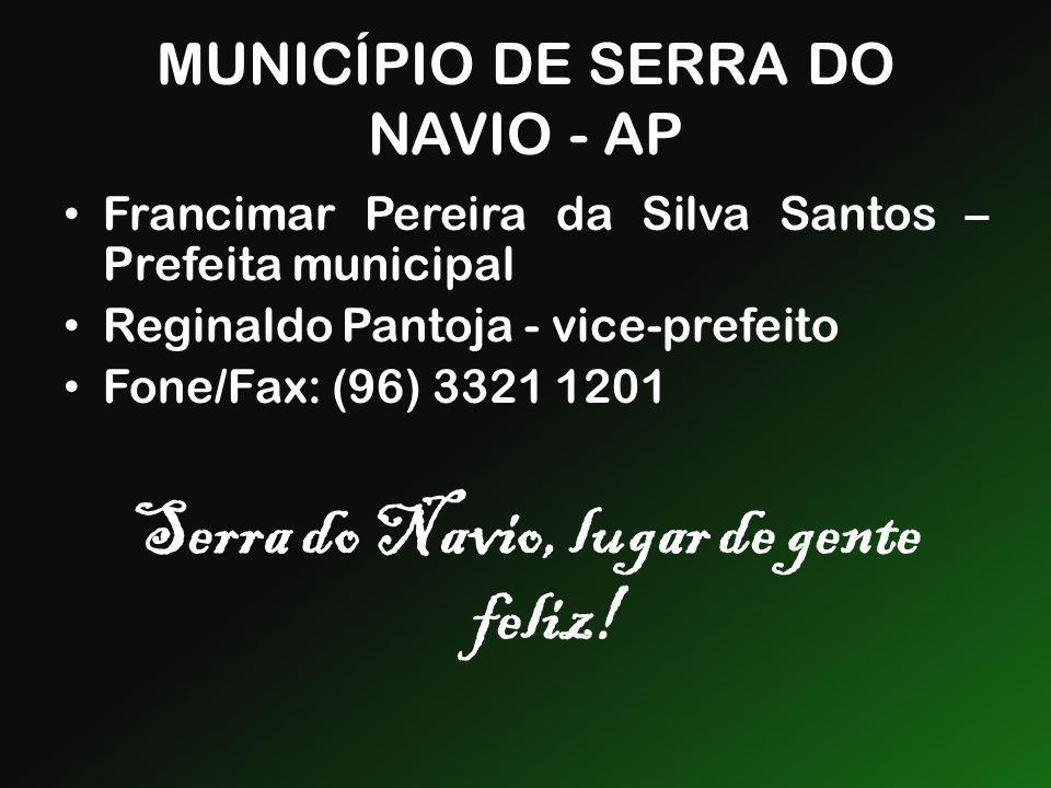MUNICÍPIO DE SERRA DO NAVIO - AP