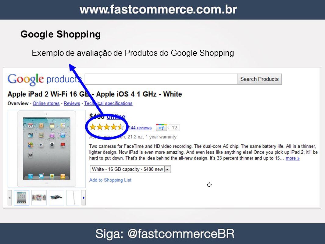 Google Shopping Exemplo de avaliação de Produtos do Google Shopping 37