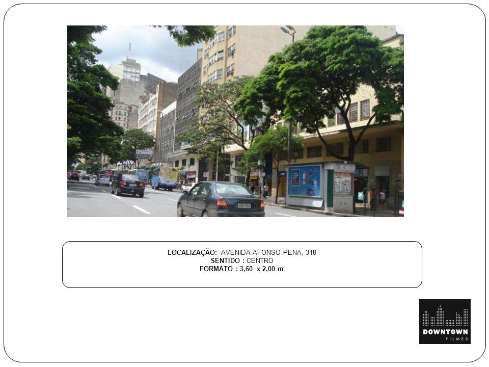 LOCALIZAÇÃO: AVENIDA AFONSO PENA, 318