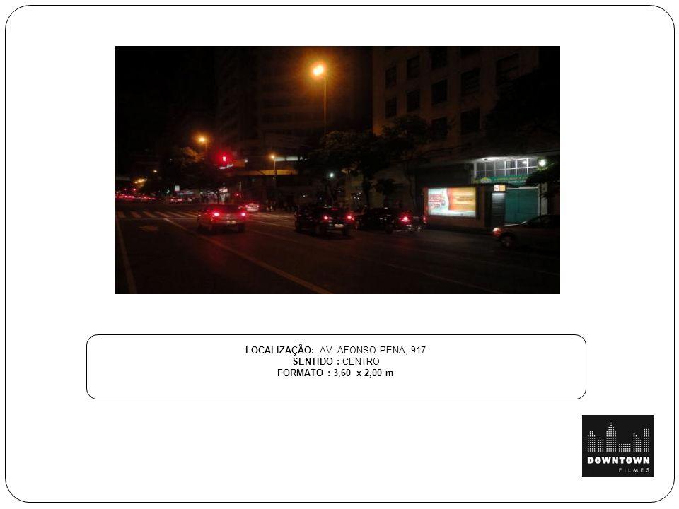 LOCALIZAÇÃO: AV. AFONSO PENA, 917
