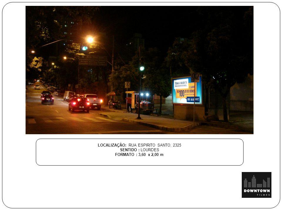 LOCALIZAÇÃO: RUA ESPIRITO SANTO, 2325