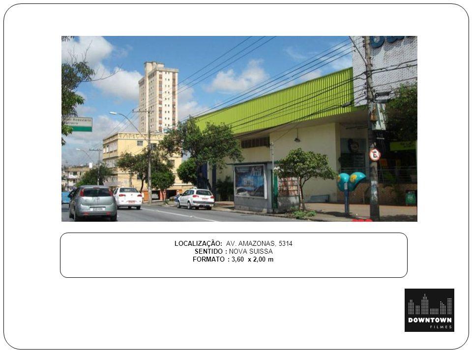 LOCALIZAÇÃO: AV. AMAZONAS, 5314