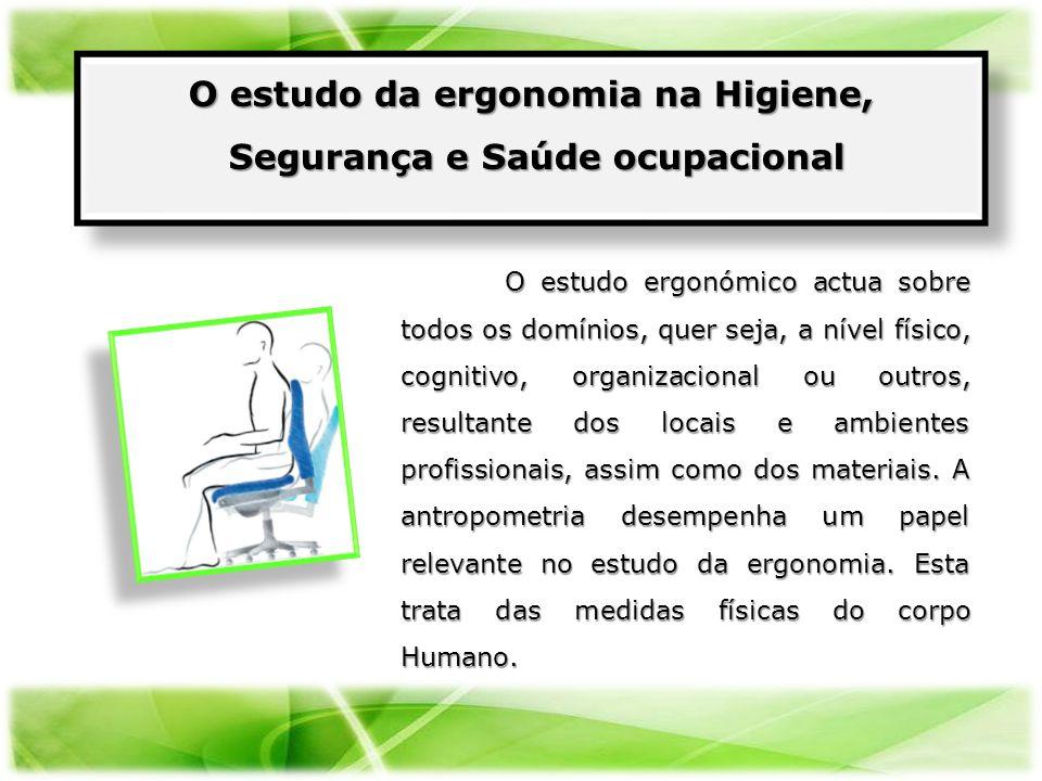 O estudo da ergonomia na Higiene, Segurança e Saúde ocupacional