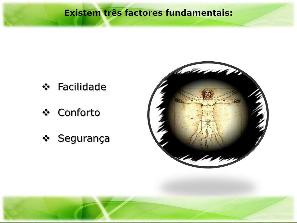 Existem três factores fundamentais: