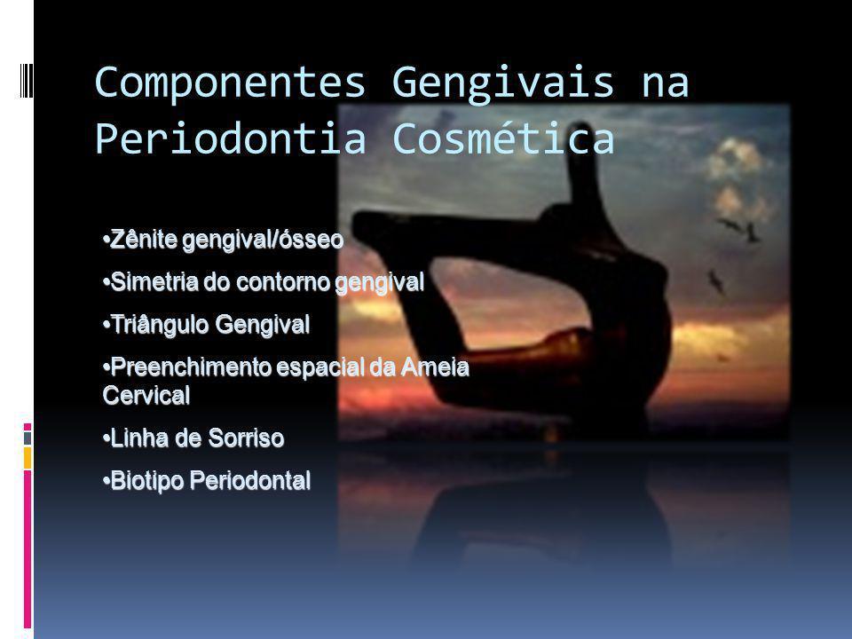 Componentes Gengivais na Periodontia Cosmética