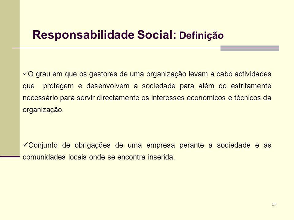 Responsabilidade Social: Definição