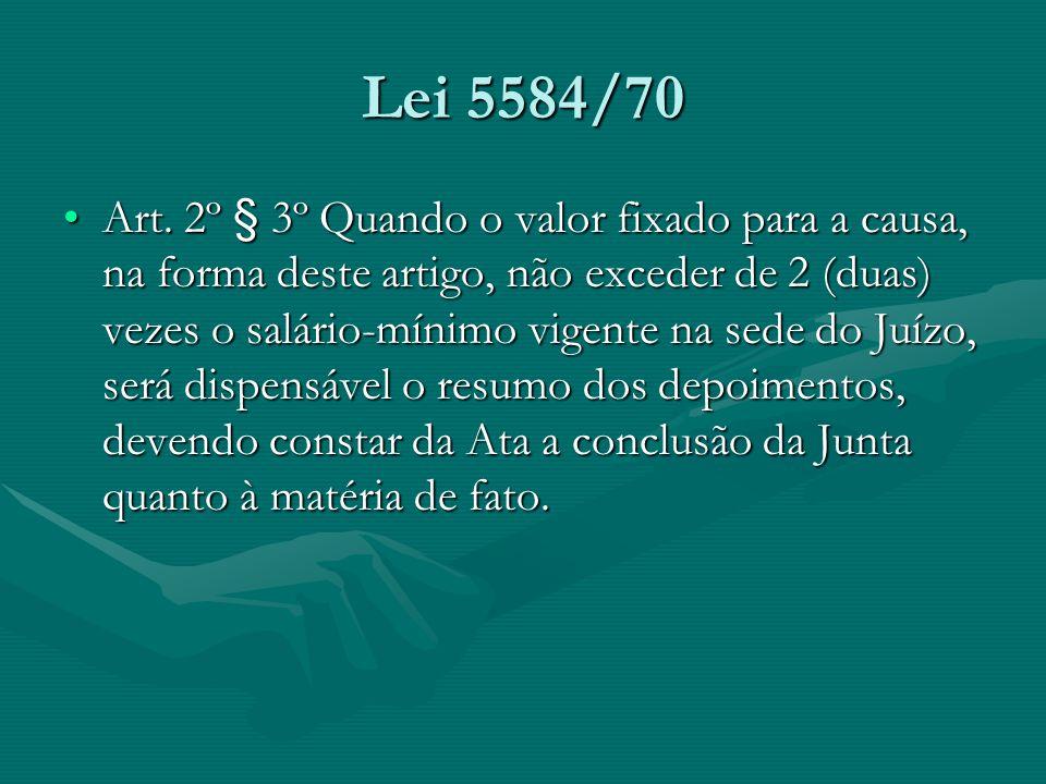 Lei 5584/70