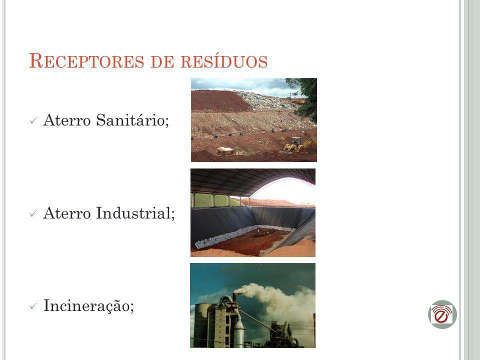 Receptores de resíduos