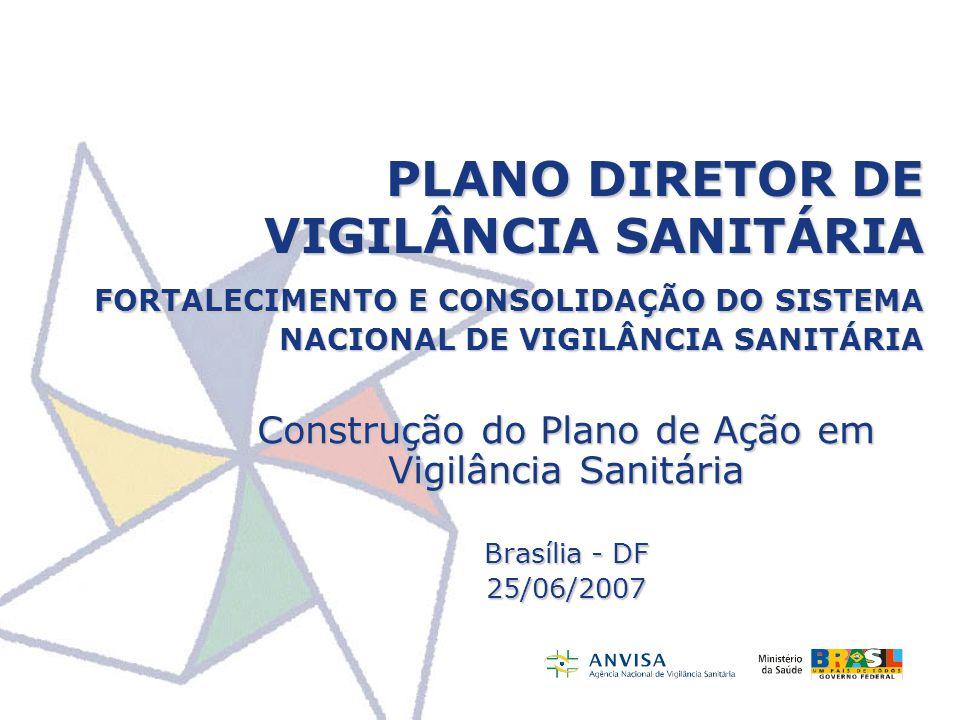 Construção do Plano de Ação em Vigilância Sanitária