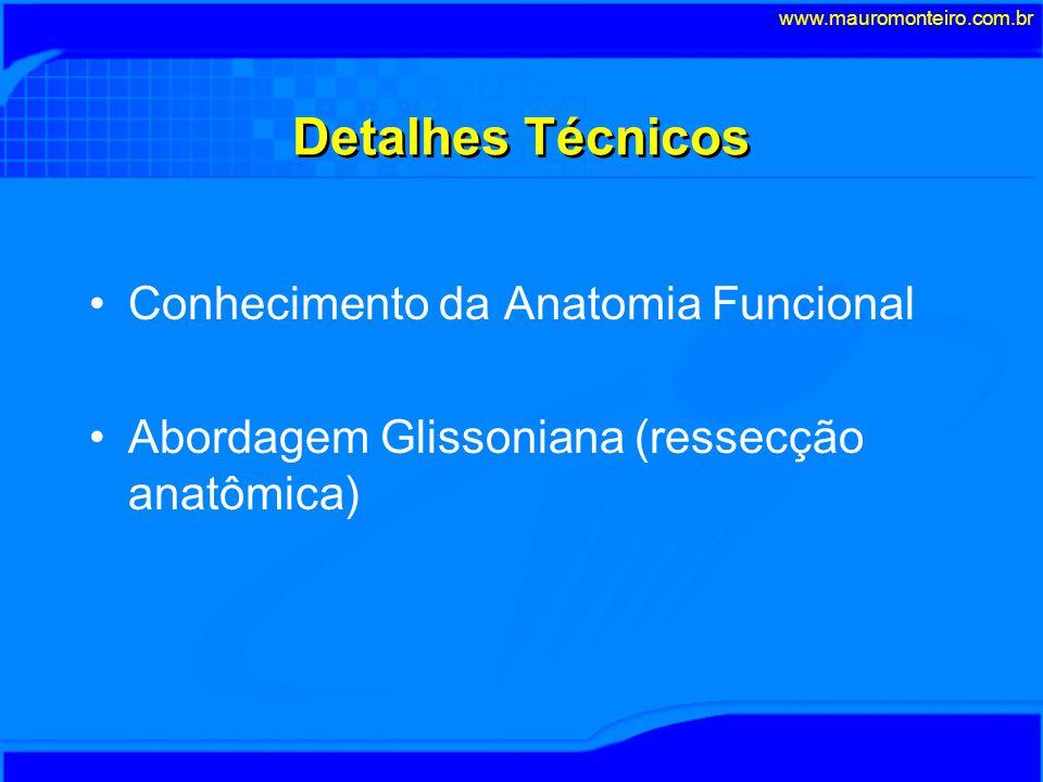 Detalhes Técnicos Conhecimento da Anatomia Funcional