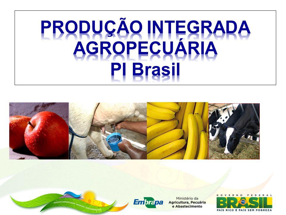 PRODUÇÃO INTEGRADA AGROPECUÁRIA