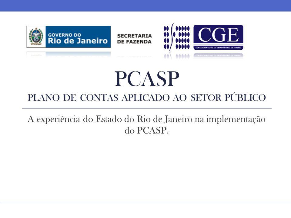 PCASP Plano de contas aplicado ao setor público
