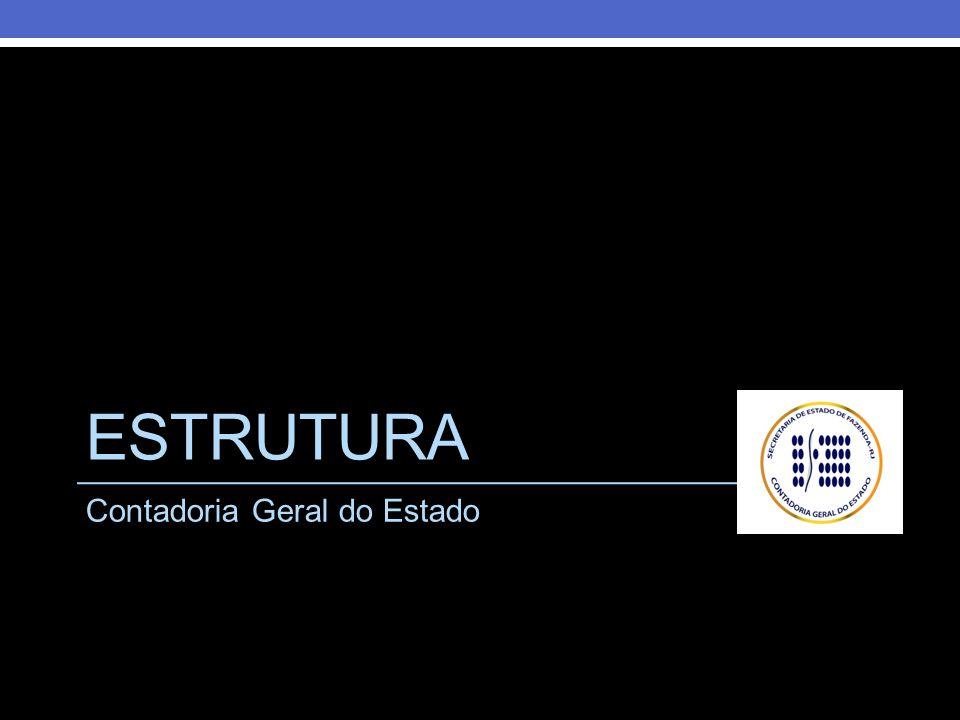 Estrutura Contadoria Geral do Estado