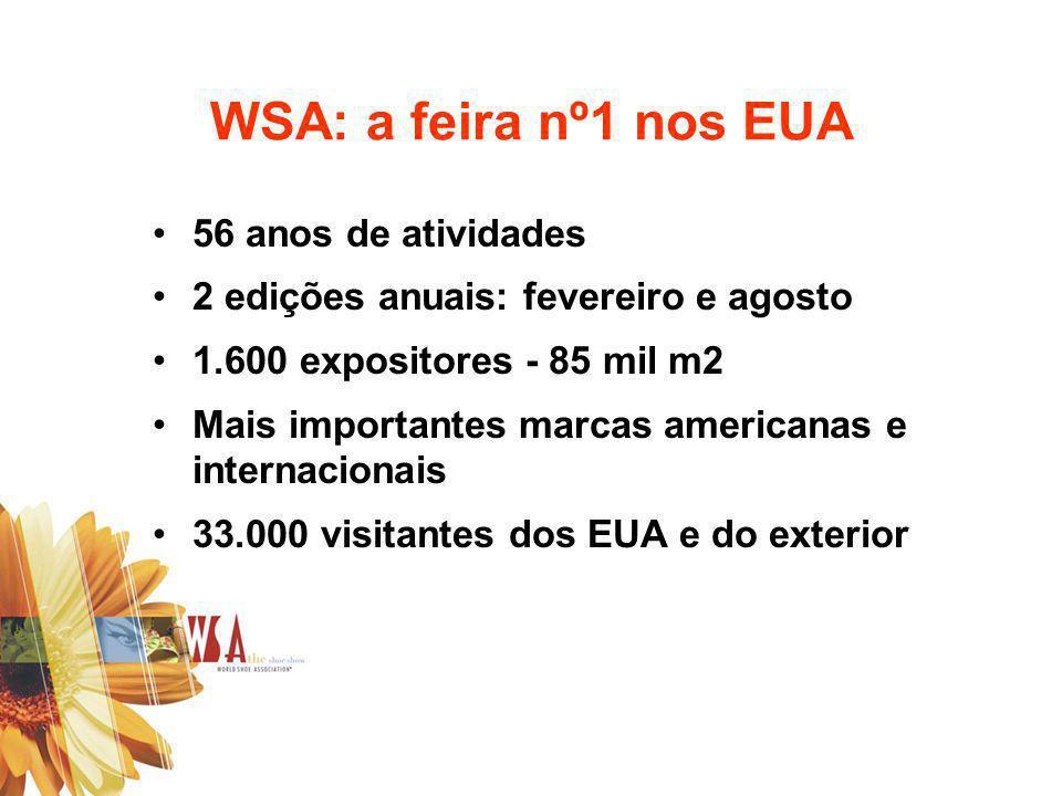 WSA: a feira nº1 nos EUA 56 anos de atividades