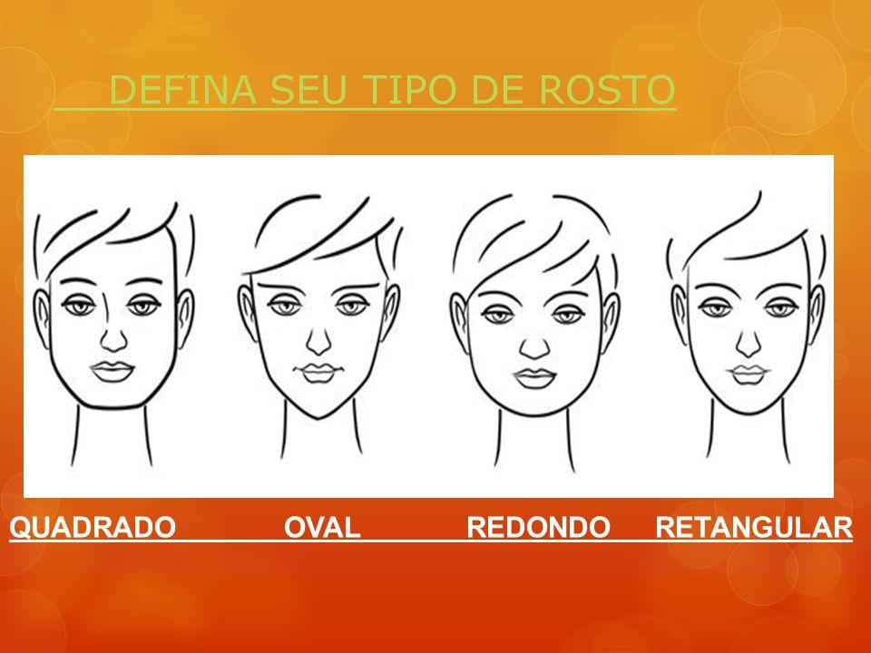 DEFINA SEU TIPO DE ROSTO