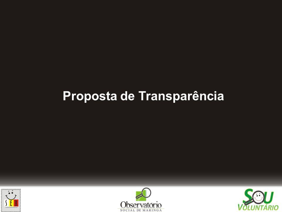 Proposta de Transparência