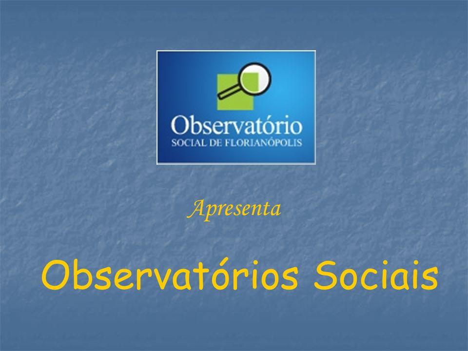 Observatórios Sociais