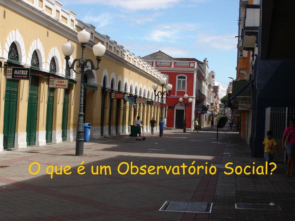 O que é um Observatório Social
