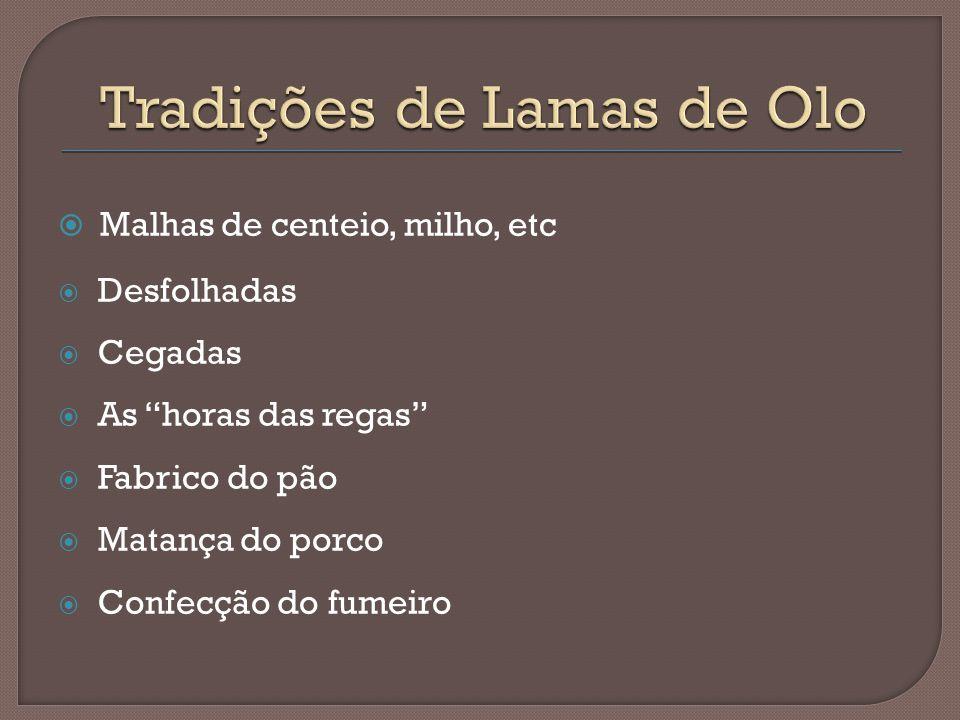 Tradições de Lamas de Olo