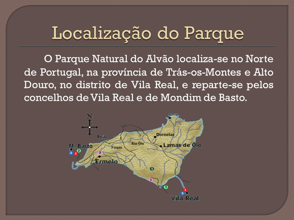 Localização do Parque
