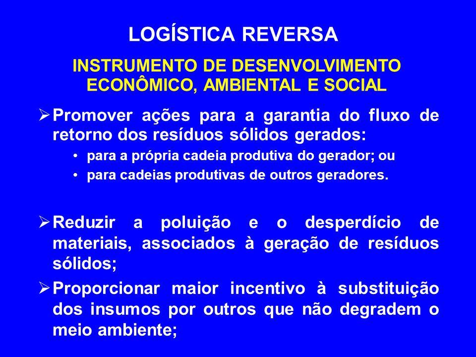 INSTRUMENTO DE DESENVOLVIMENTO ECONÔMICO, AMBIENTAL E SOCIAL