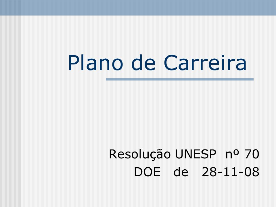 Resolução UNESP nº 70 DOE de 28-11-08
