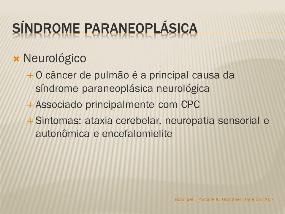 Síndrome paraneoplásica