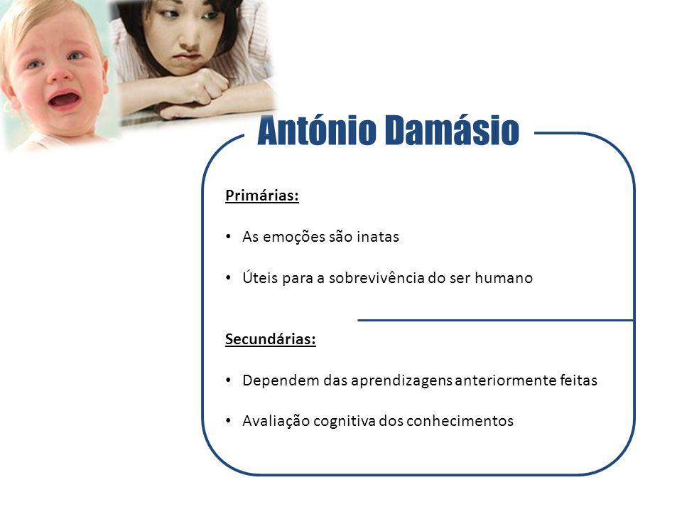 António Damásio Primárias: As emoções são inatas