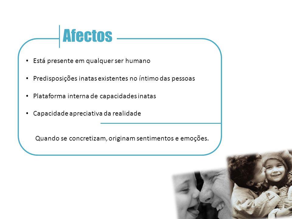 Afectos Está presente em qualquer ser humano