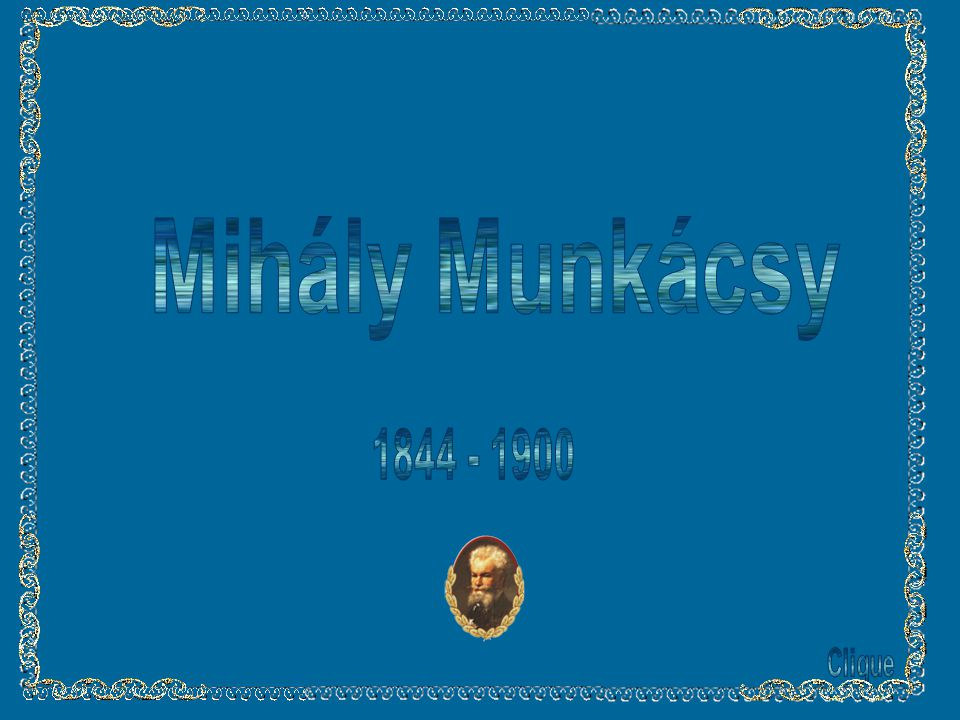 Mihály Munkácsy 1844 - 1900 Clique
