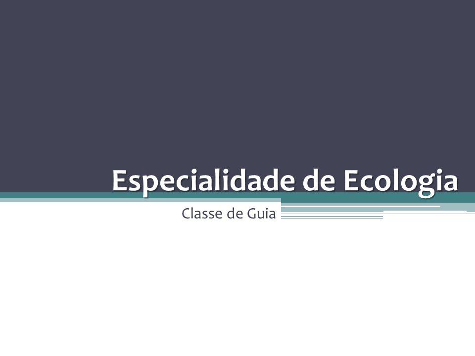 Especialidade de Ecologia