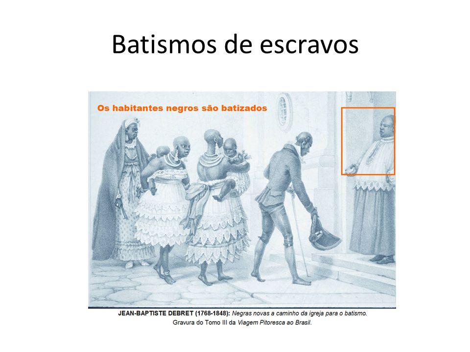 Batismos de escravos