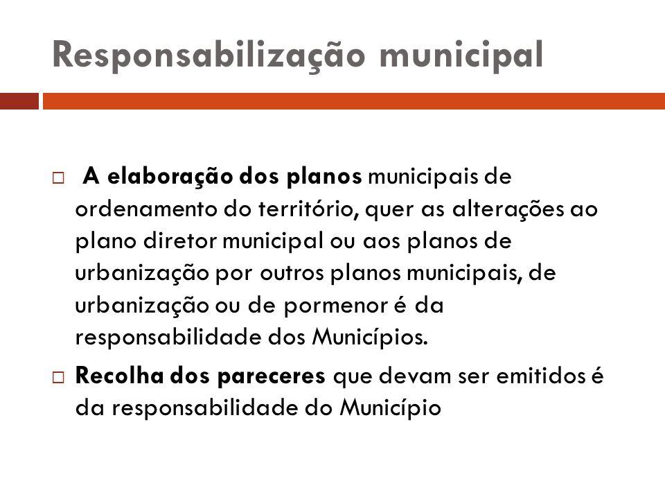 Responsabilização municipal