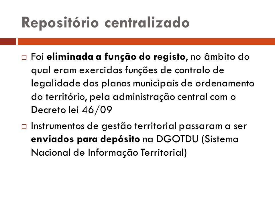 Repositório centralizado