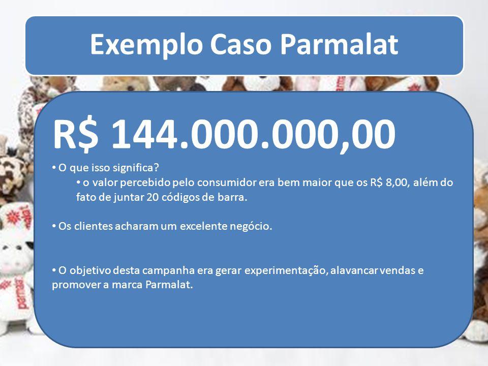Exemplo Caso Parmalat R$ 144.000.000,00. O que isso significa
