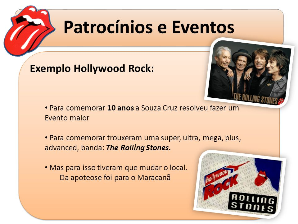 Exemplo Hollywood Rock: