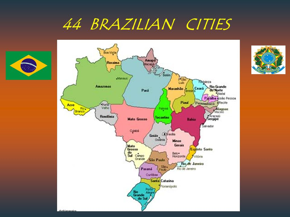 44 BRAZILIAN CITIES
